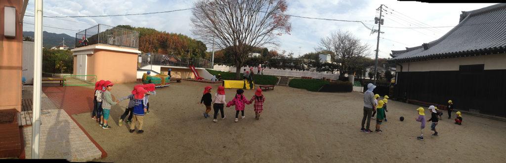 日照幼稚園 園庭